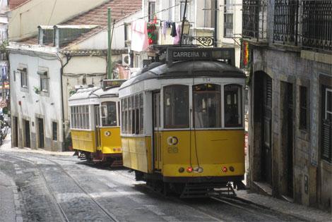 lizbona tramwaje