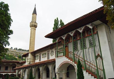 Bachczysaraj, Pałac Chanów
