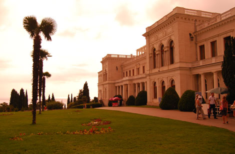 Jałta, Pałac w Liwadii