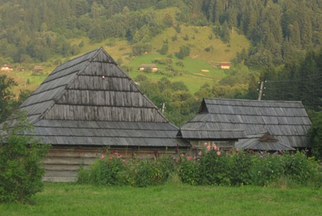 ukraina karpaty wies